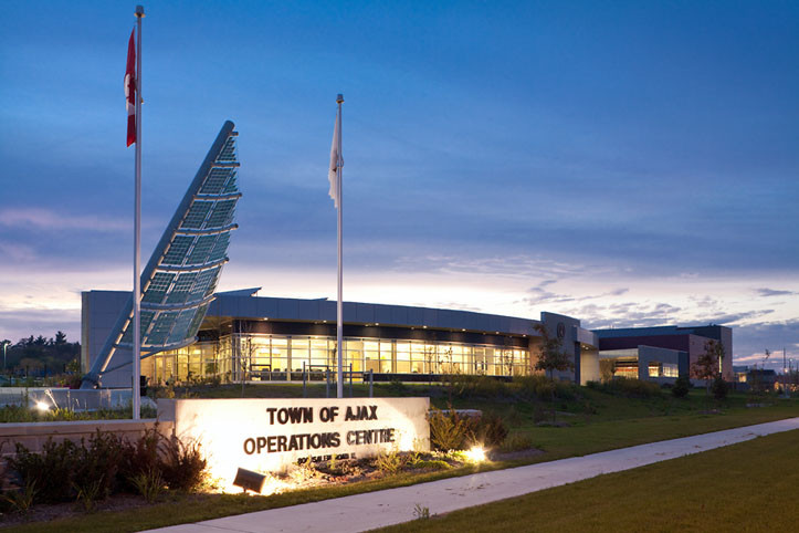 Ajax Operations Centre Leed Silver Independent Project